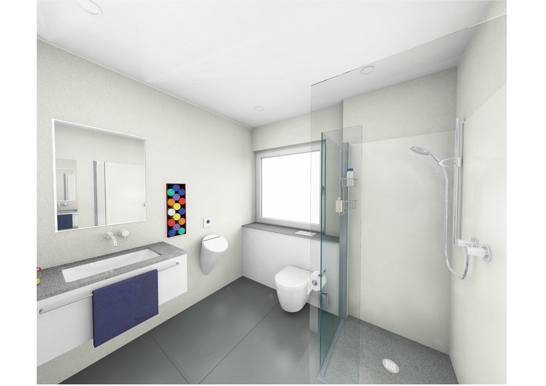 Planung Badezimmer (virtuelle Realität)