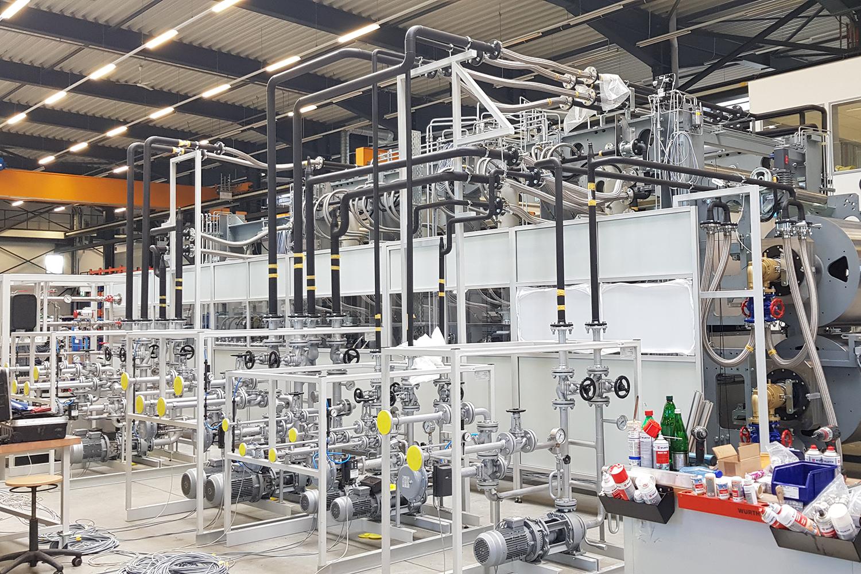Verrohrung Industrieanlage